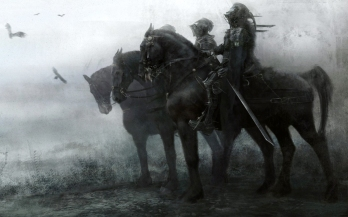 Warrior Knight Horses