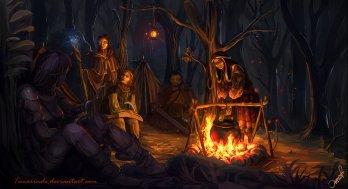 """Campfire"" by Temarinde"