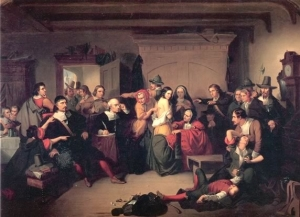 """The Examination of a Witch"" by Thompkins H. Matteson"