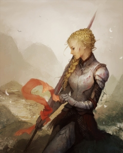 """Lady Knight"" by Janaina Medeiros"