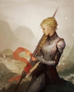 """""""Lady Knight"""" by Janaina Medeiros"""