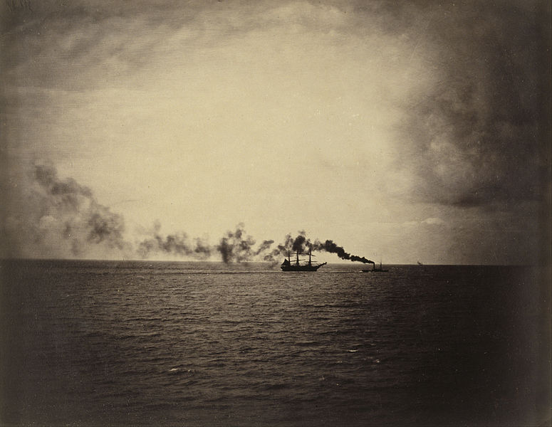 Steamboat by Gustave Le Gray